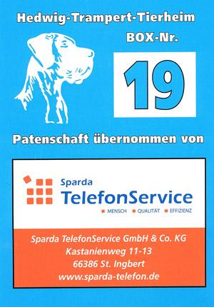 Vielen Dank an den Sparda Telefonservice