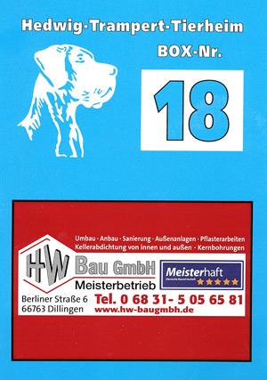 Vielen Dank an HW Bau GmbH