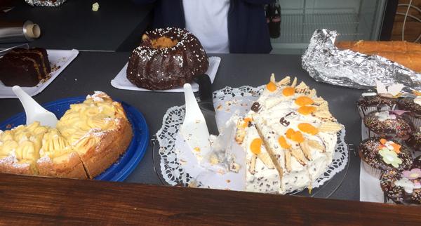 leckere Torten und Kuchen